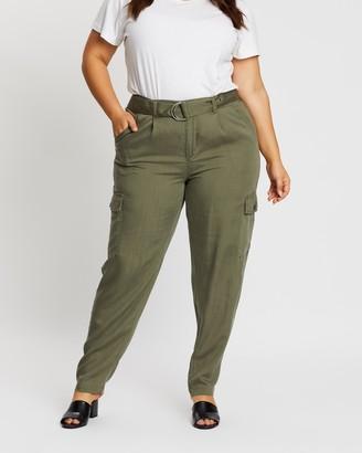 Only Carmakoma Gunnva High-Waist Cargo Pants