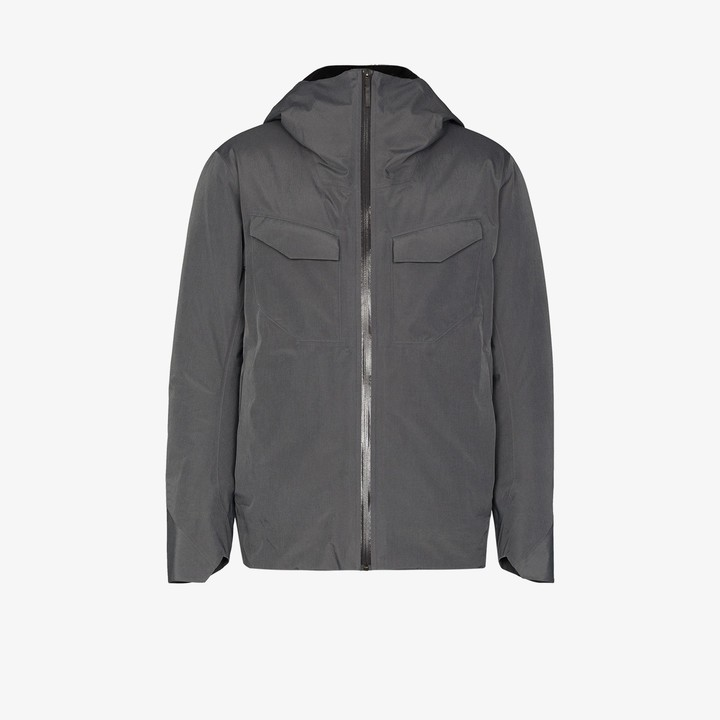 Veilance grey Node down jacket