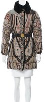 Etro Fur-Trimmed Puffer Coat