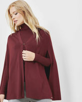KRYSTEL Knitted cape