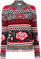 MSGM patterned jumper