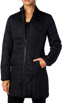 Fox Black Quilted Sequence Jacket