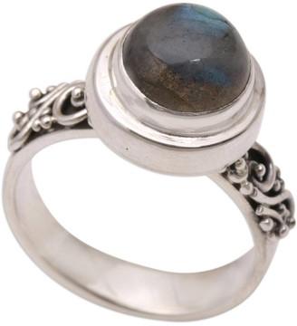 Novica Handmade Magnificent Forest Sterling Silver Labradorite Ring