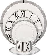 Mikasa Dinnerware Bone China 5-Pc. Winslet Black Place Setting