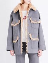 Marc Jacobs Oversized cotton jacket