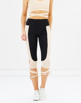 Lilly Lace Up Active Leggings