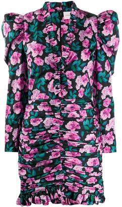 Giuseppe di Morabito Floral Print Cocktail Dress