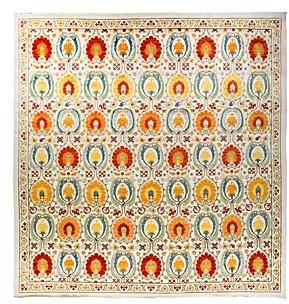 Bloomingdale's Solo Rugs Lyon Suzani Area Rug, 12'0 x 12'3