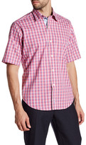 Tailorbyrd Woven Short Sleeve Classic Fit Shirt