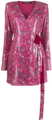 Andamane wrap style dress