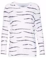 Zoe Karssen Printed Cotton And Linen-Blend T-Shirt
