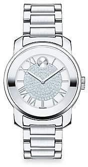 Movado Women's BOLD Luxe Crystal & Stainless Steel Bracelet Watch