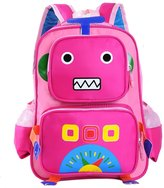 Happy Cherry Kid's Backpack Boys Girls Toddler School Bag with Robot design