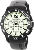 Nautica Men's N20059G Resin Quartz Watch with White Dial