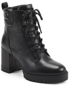 Aerosoles Women's Elena Heeled Combat Boot Women's Shoes