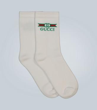 Gucci Calf-length cotton socks