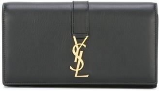 Saint Laurent flap wallet
