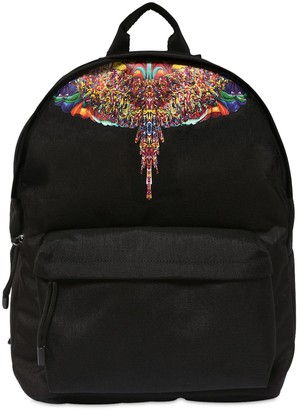Marcelo Burlon County of Milan Printed Wings Tech Backpack