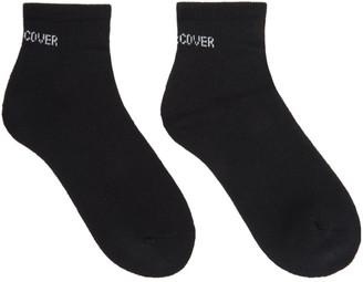 Undercover Black Logo Ankle Socks
