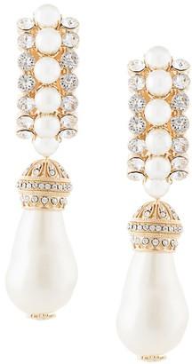 Dolce & Gabbana Faux-Pearl Pendant Clip-On Earrings