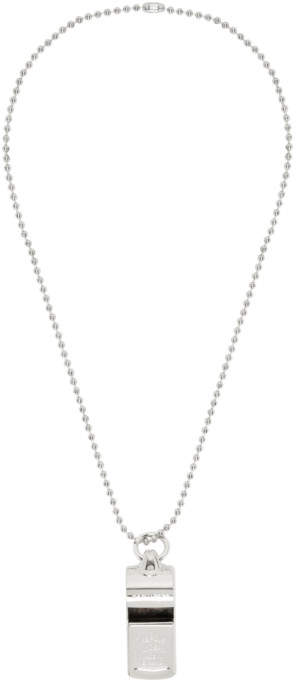 DSQUARED2 Silver Whistle Necklace