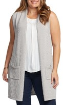 Tart Plus Size Women's Holly Knit Open Front Vest