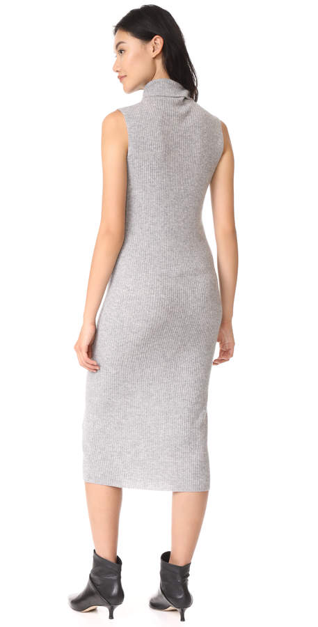 James Perse Cashmere Turtleneck Dress