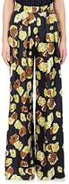 Martin Grant WOMEN'S FLORAL SILK WIDE-LEG PANTS