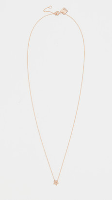 ginette_ny Mini Open Star On Chain Necklace