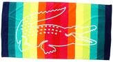 Lacoste Crocostripe II Beach Towel