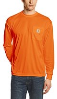 Carhartt Men's High Visibility Force Color Enhanced Long Sleeve Tee