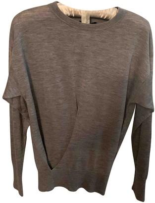 Isabel Marant Grey Cashmere Knitwear