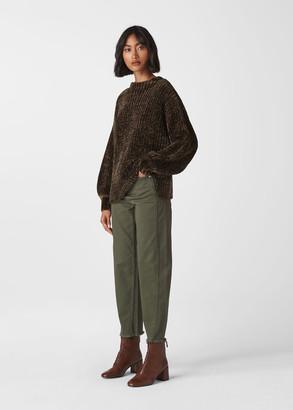 Chenille Full Sleeve Sweater
