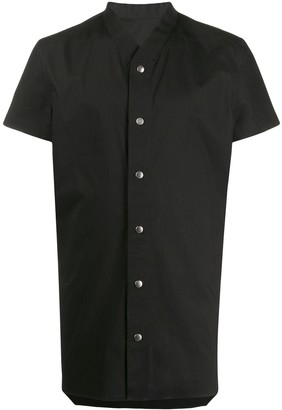 Rick Owens press stud shirt