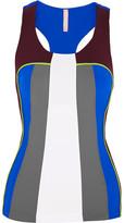 NO KA 'OI No Ka'Oi - Moku Color-block Stretch-jersey Top - Gray