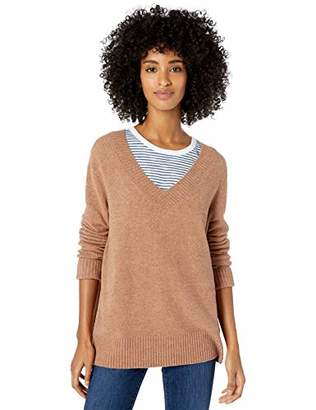 Goodthreads Mid-gauge Stretch V-neck SweaterS