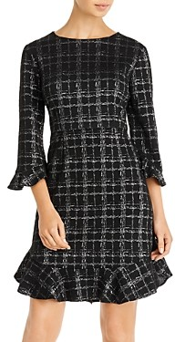 Nanette Lepore nanette Flounce Sheath Dress
