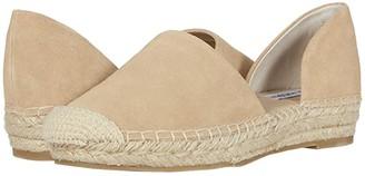 Steve Madden Leema Espadrille Flat (White Croco) Women's Shoes