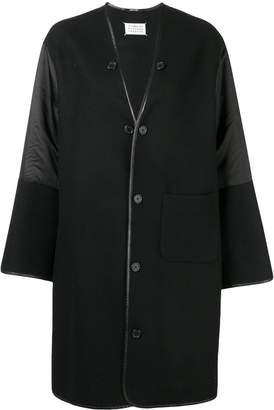 Maison Margiela oversized button coat