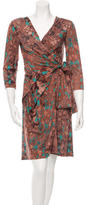 Costello Tagliapietra Printed Wrap Dress