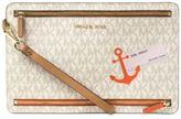 MICHAEL Michael Kors Signature Sail Away Large Travel Wristlet