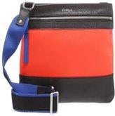Furla Fencie Across Body Bag Arancio/onyx/deep Blue