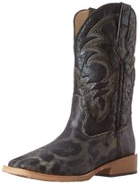 Roper Women's Square Toe Leopard Riding Boot