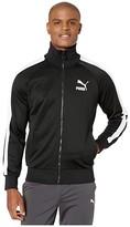 Puma Iconic T7 Track Jacket Black) Men's Clothing