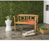 west elm Moorpark Outdoor 2-Seat Bench