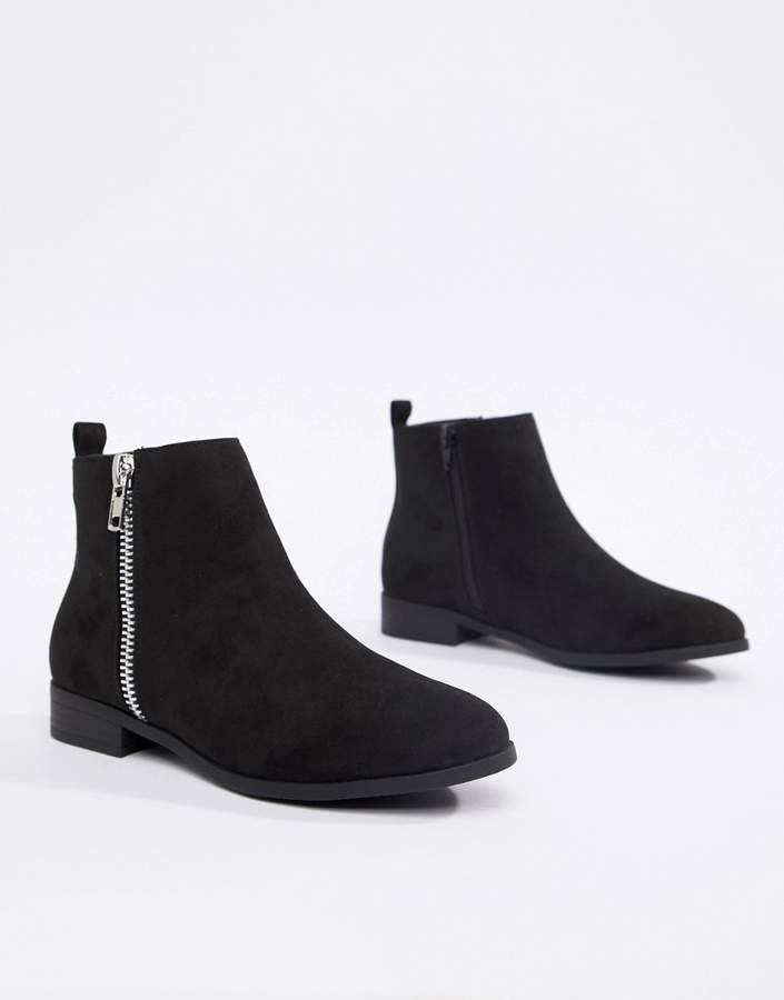cae8fbeae32 Side Zip Ankle Boots