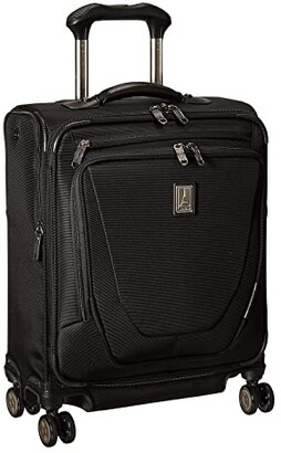 Travelpro Crew 11 - International Carry-On Spinner (Black) Carry on Luggage
