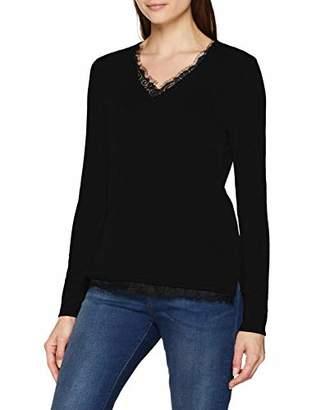 S'Oliver BLACK LABEL Women's 11.809.61.4922 Regular Fit Long Sleeve Jumper,(Manufacturer Size: 36)
