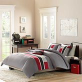 Mizone Pipeline 4 Piece Comforter Set, Full/Queen, Red