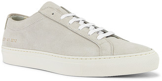 Common Projects Original Achilles Low Suede Sneaker in Off White | FWRD